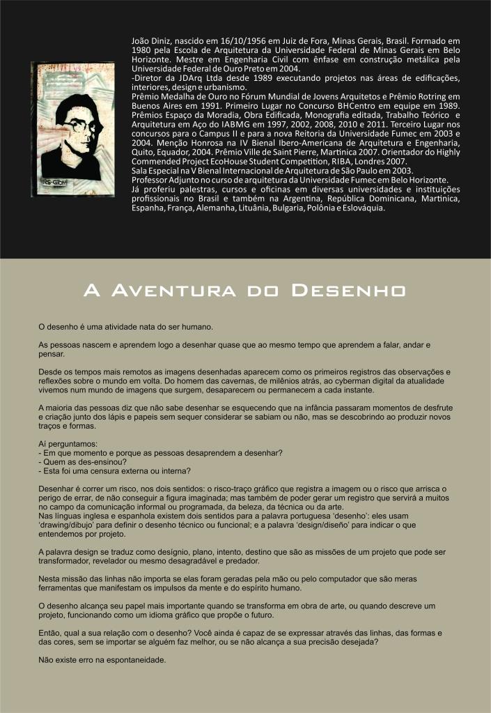 João Diniz e o Desenho