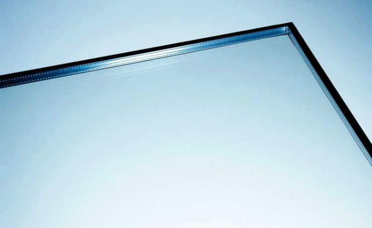 vidro transparente